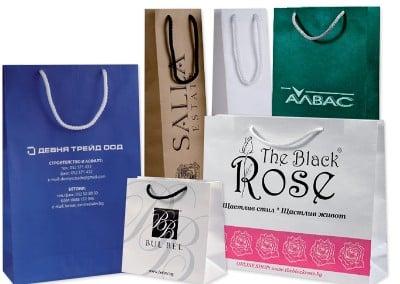 Хартиени торбички