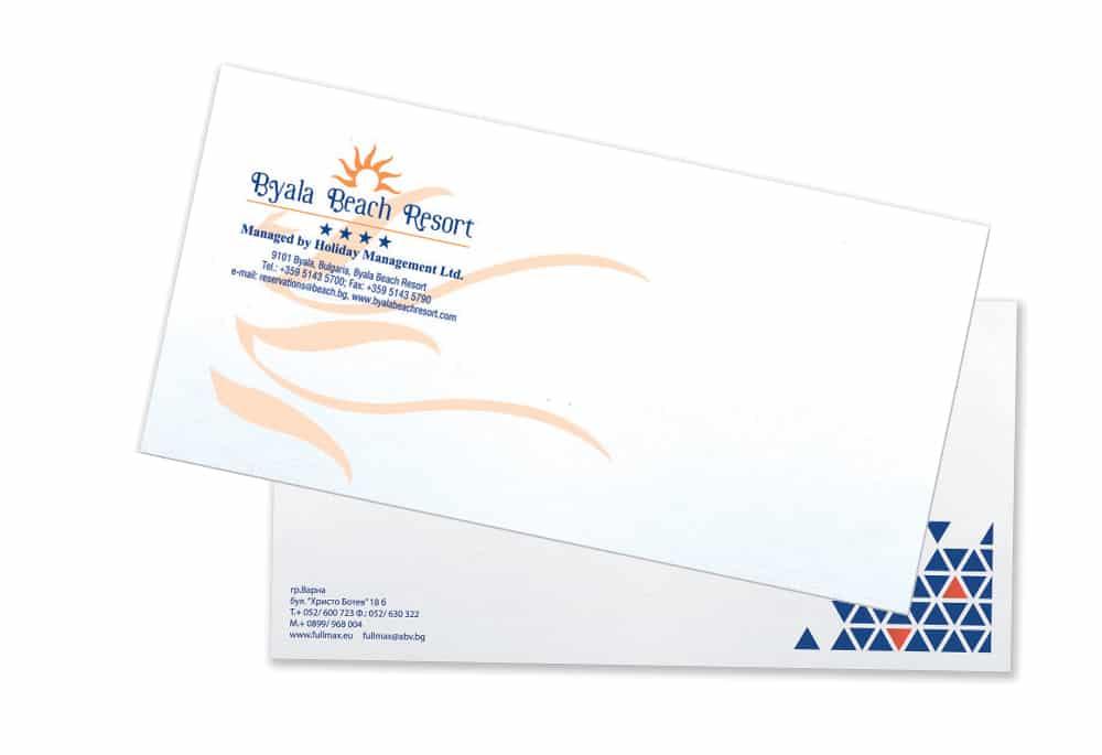 Печат на пощенски пликове