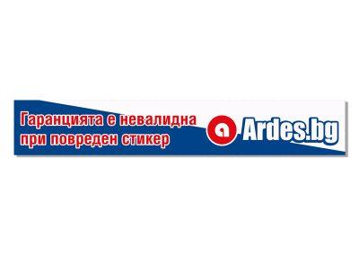 гаранционен стикер за компютърна техника на Ardes