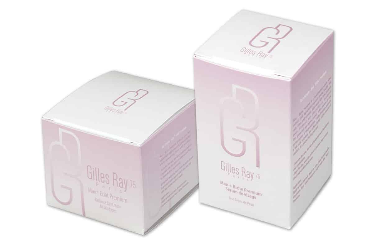 кутии със селективен лак за козметика