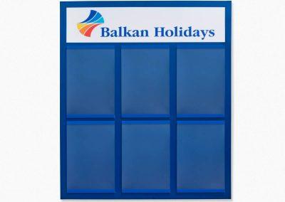 информационно табло balkan holidays