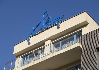 Светещи букви - хотел Славей, Златни Пясъци