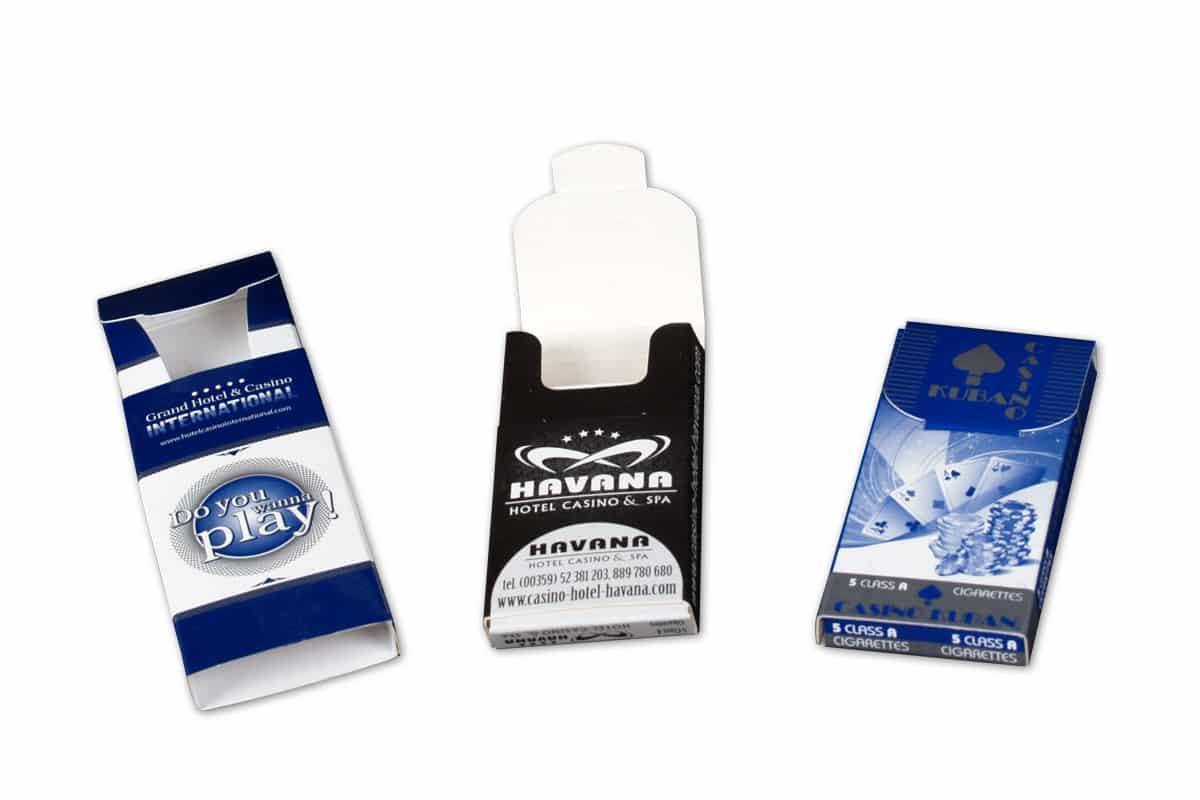 подаръчна кутия за цигари за казина