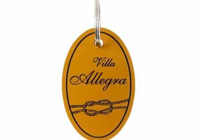 Ключодържател - Вила Алегра