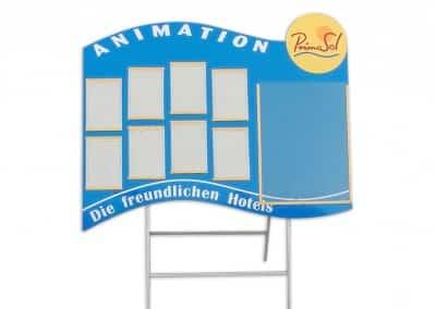 Информационно табло за земя - Primasol