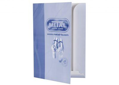 папка модел ПЩ10, Метал