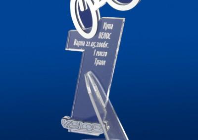 Плакет за магазин Велос