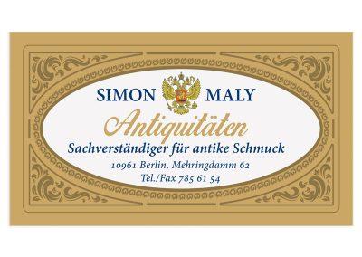 визитка simon_maly