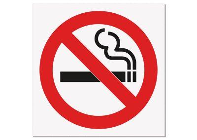 стикер със пиктограма - пушенето забранено
