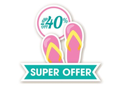sticker super offer