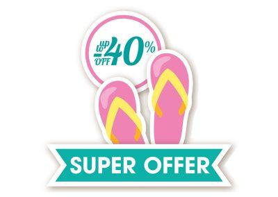 sticker super offer
