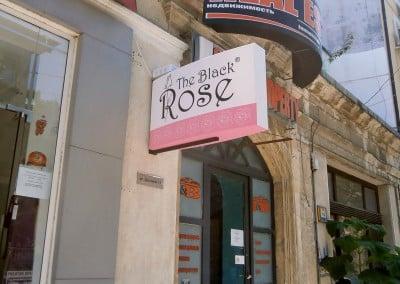 Светеща реклама Блек Роуз