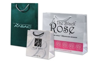 рекламни хартиени торбички с печат