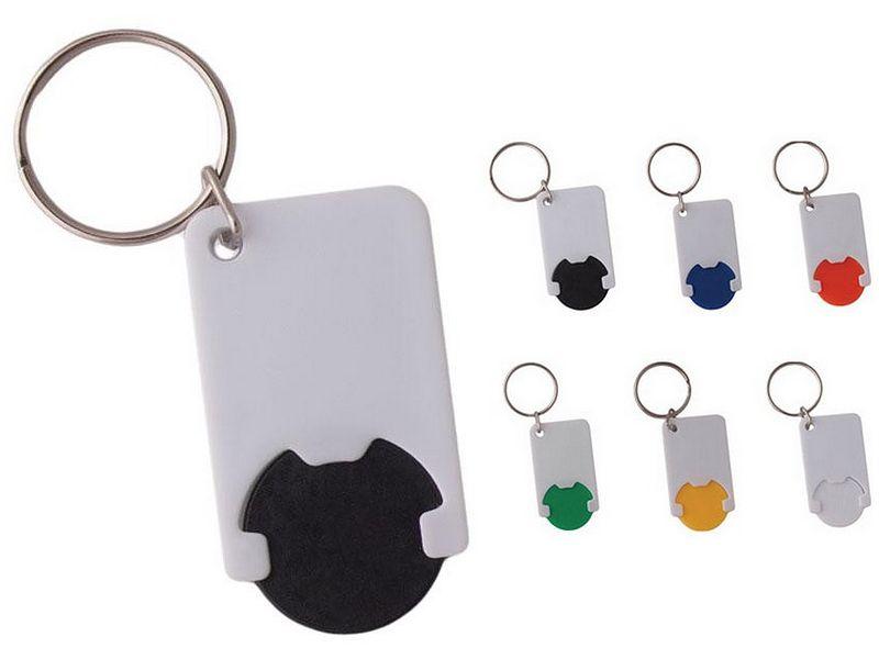 пластмасов ключодържател с жетон