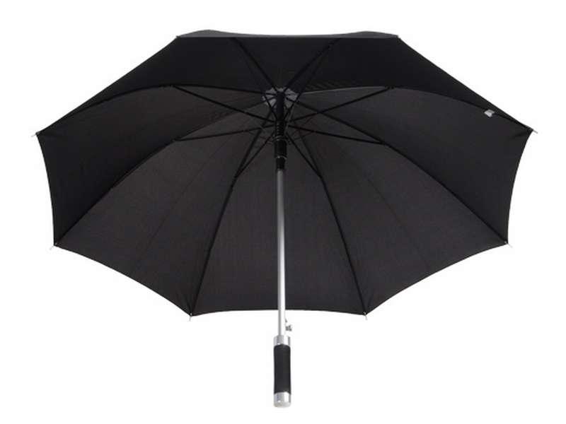 Автоматичен чадър с 8 секции и алуминиева дръжка с гумено покритие