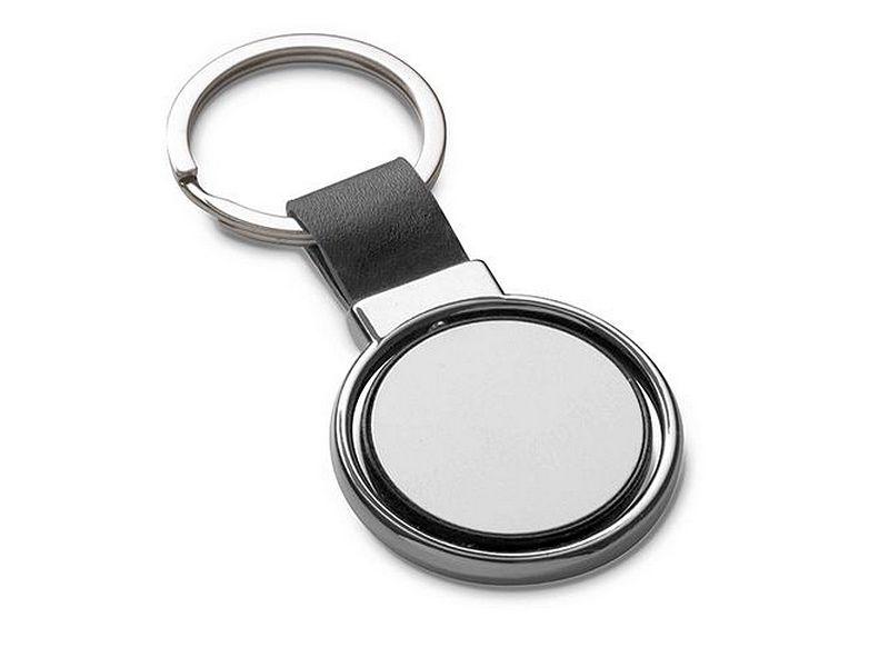 рекламен ключодържател с въртяща се плочка