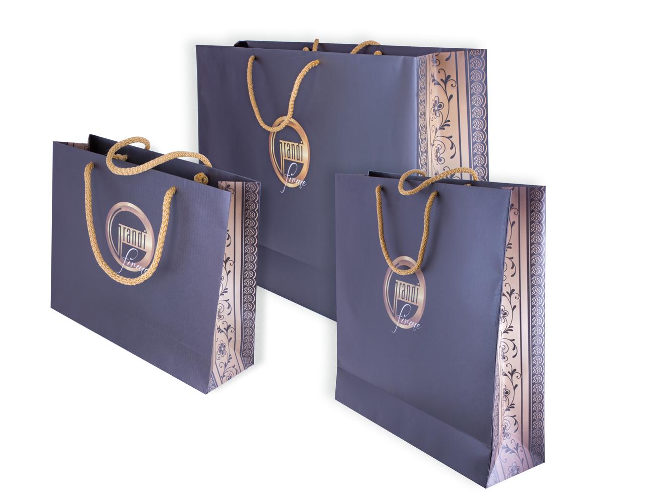 Хартиени торбички - дизайн, печат и изработка