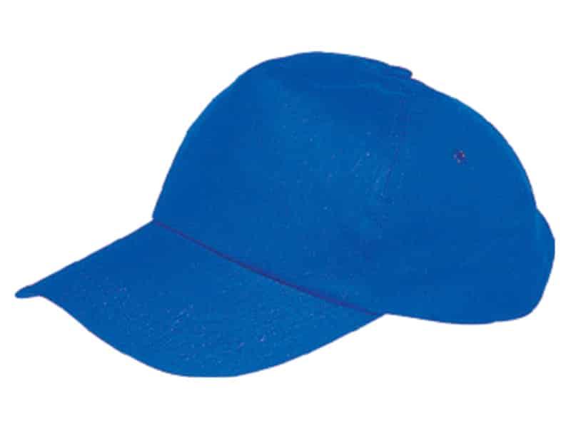 синя бейзболна шапка с 5 панела