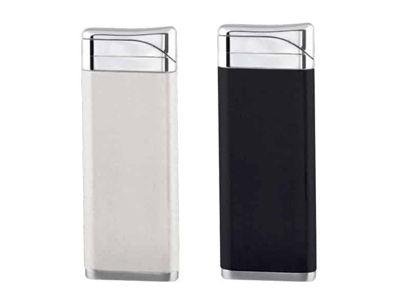 черна и бяла метални запалки