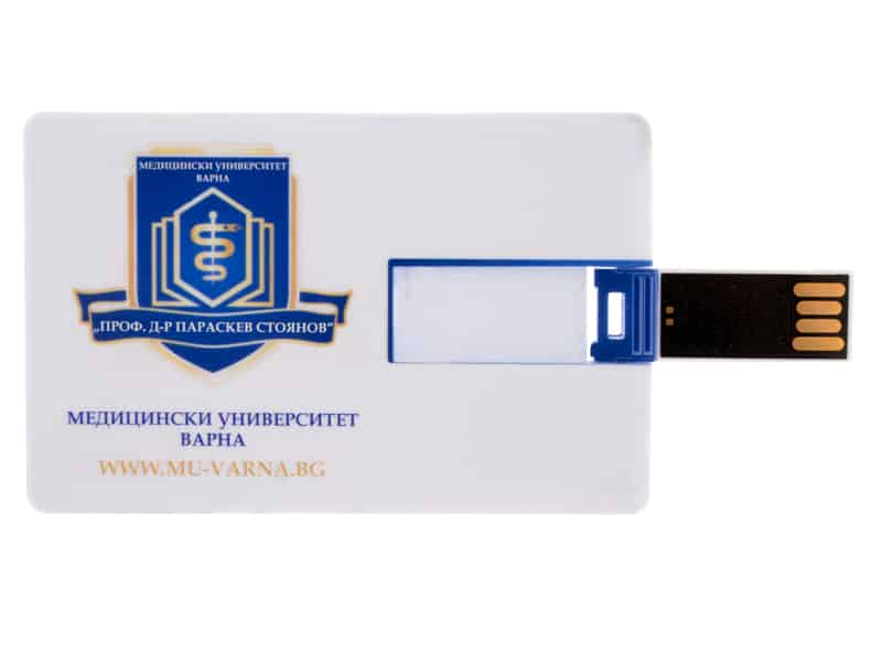 USB с рекламен надпис Medical university