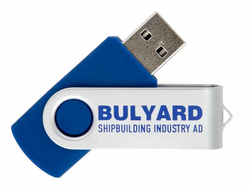 флаш памет с рекламен надпис на BULYARD
