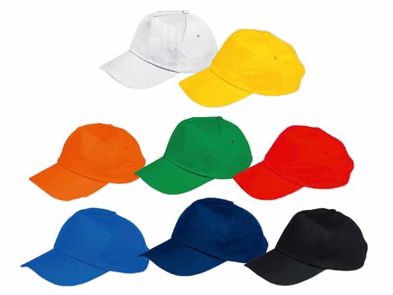 цветни реклами шапки