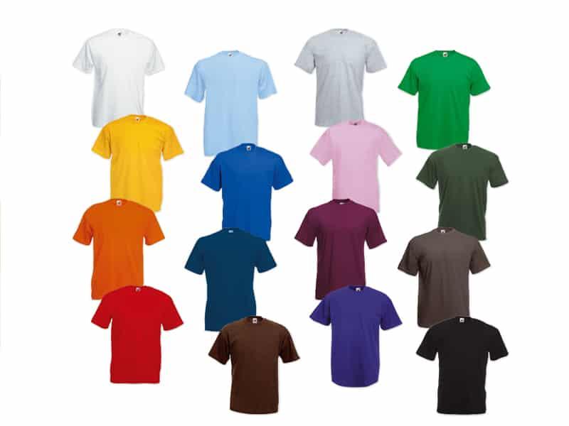цветове тениски K/ID-92