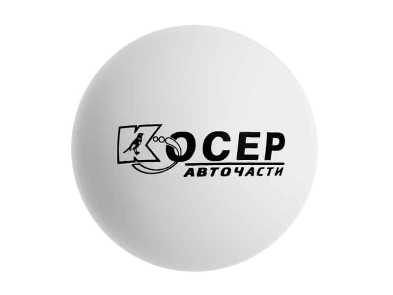 антистрес топка с рекламен надпис