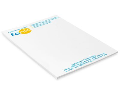 KL8 двуцветнo кубче с листи за писане, Fonio