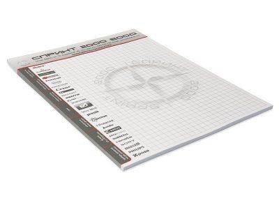 кубче рекламни листи А4, Спринт 2000