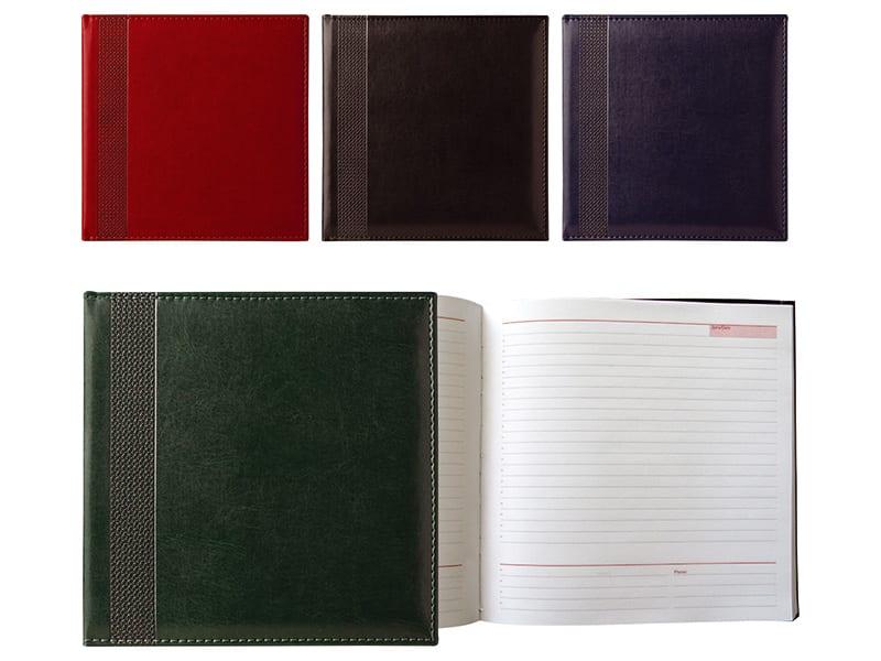 бележници с размери 20/20 см, с луксозна корица от термо кожа
