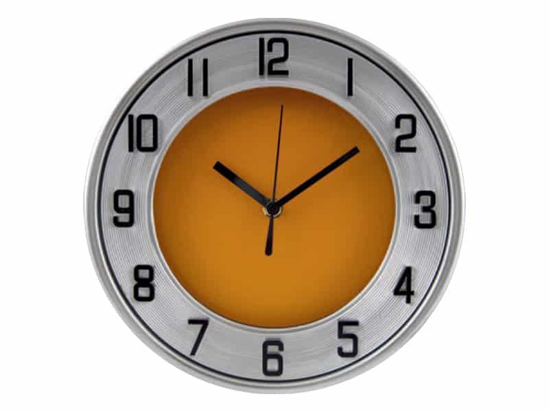 стенен часовник с диаметър 25 см