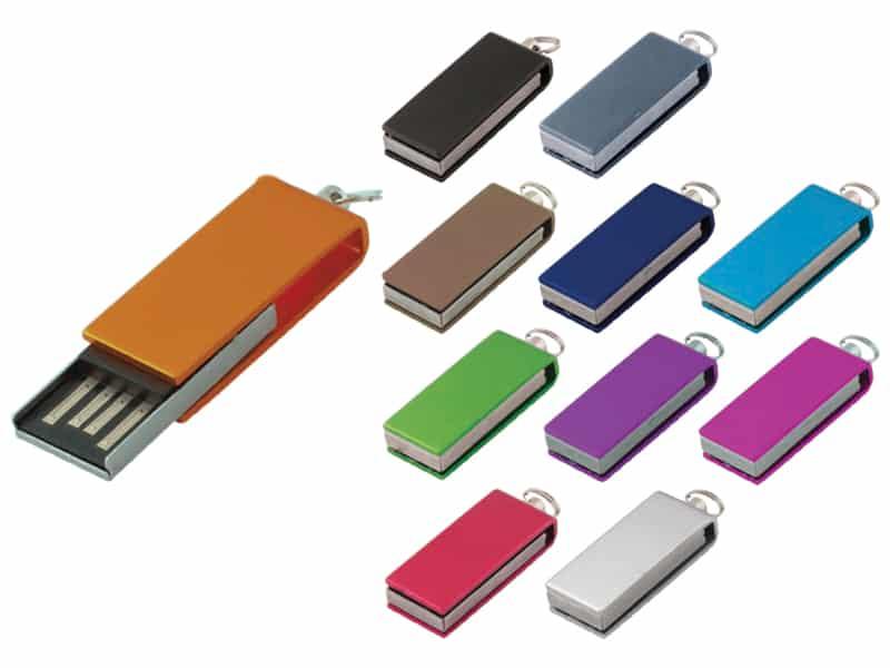 цветни метални рекламни флашки, код MS703