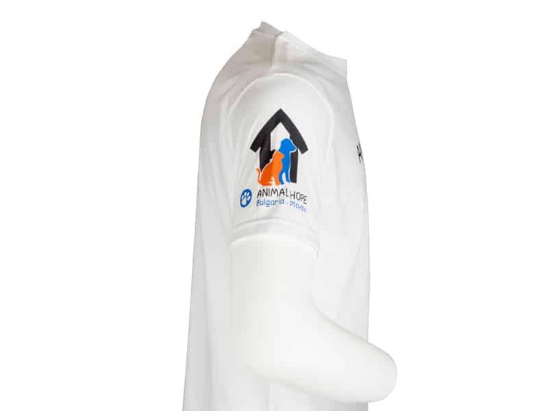Печат на ръкав на тениска - Animal hope