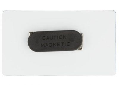 двоен магнит за закрепване на бадж