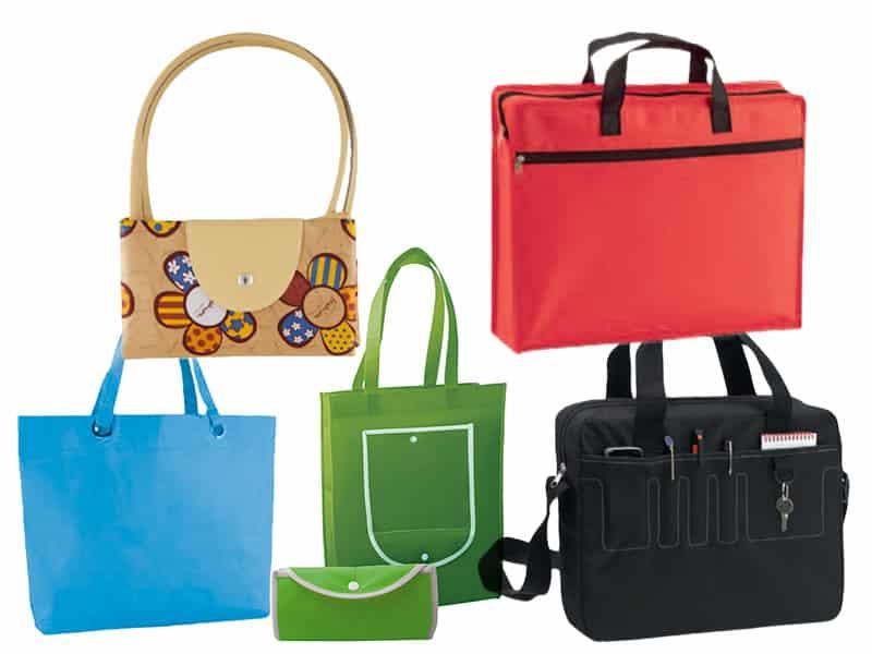 Асортимент от рекламни еко торбички и чанти