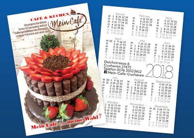 Джобно календарче 9600, mein cafe