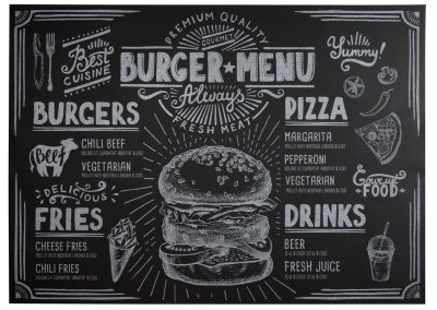 подложка за маса Burger-Menu