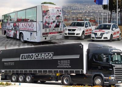 Брандиране на фирмени автомобили