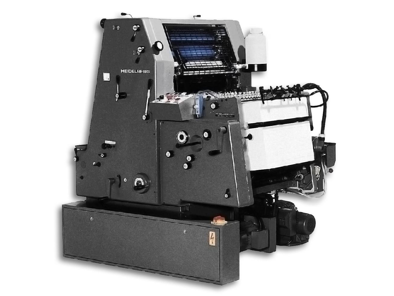 офсетова печатна машина GTO 52, HEIDELBERG