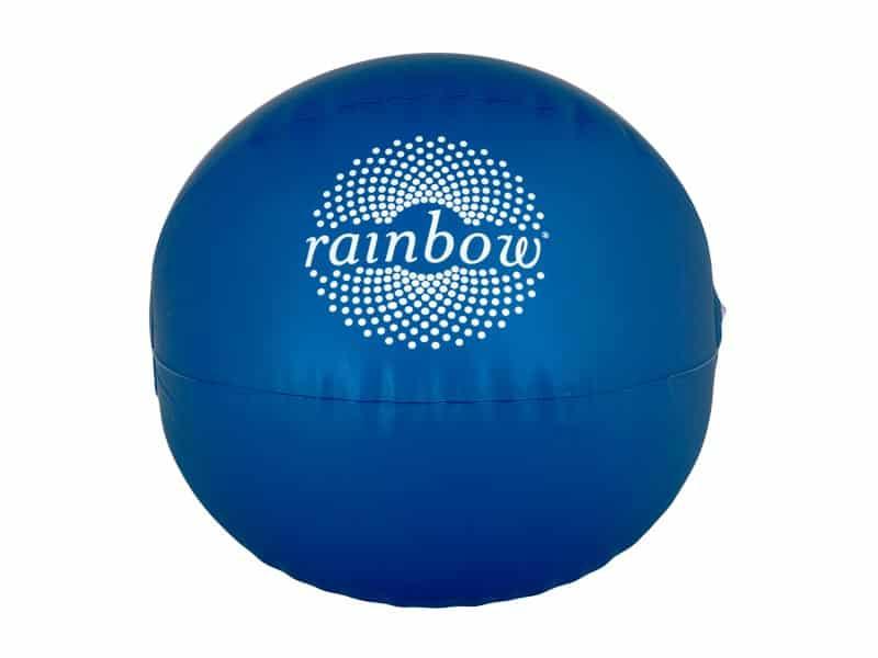надуваема топка с рекламен надпис
