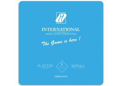 подложка за чаша в хотел International