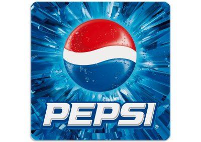 рекламни подложки за чаши на Pepsi