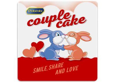 """рекламни подложки за чаши, промоционален подарък на """"Победа"""" за Свети Валентин"""