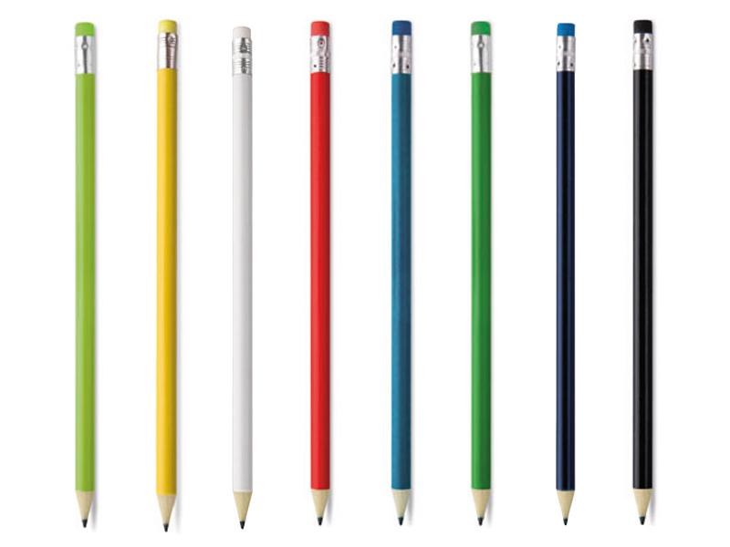 дървени цветни моливи за рекламен надпис