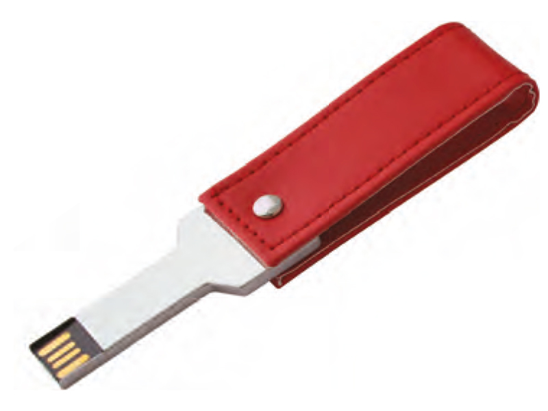 кожена флашка, USB 8 Gb