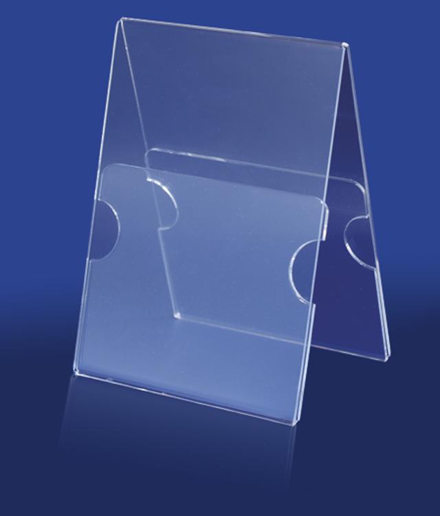 Снимка на двустранна вертикална поставка за етикети - серия VP