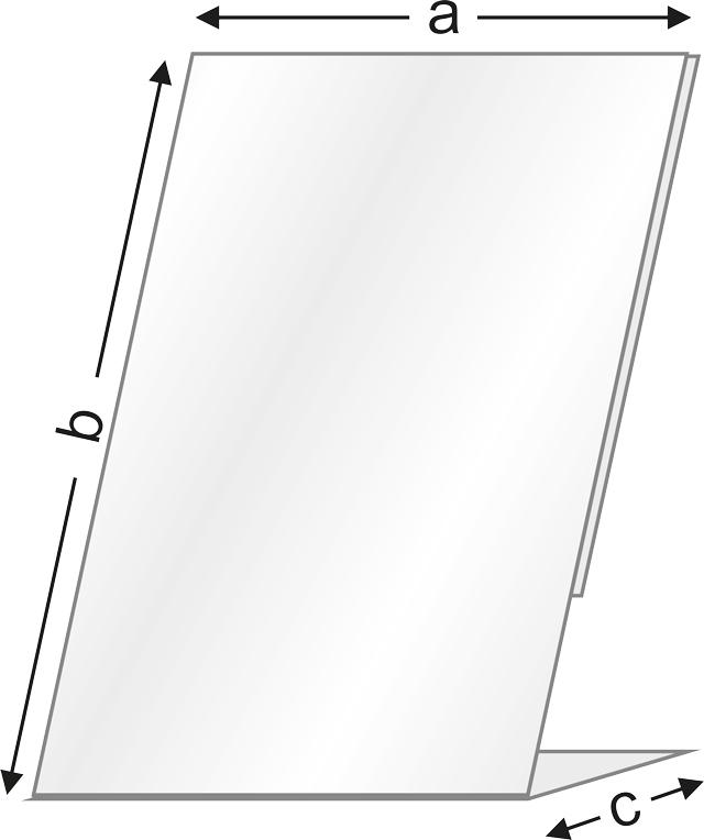 Череж с измерения на вертикална поставка за етикети от серията LP на Импрес ООД