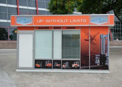 брандиран павилион на IntercomGroup Hercu