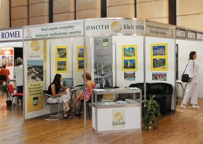 щанд за изложение в ДКС Варна на Имоти България